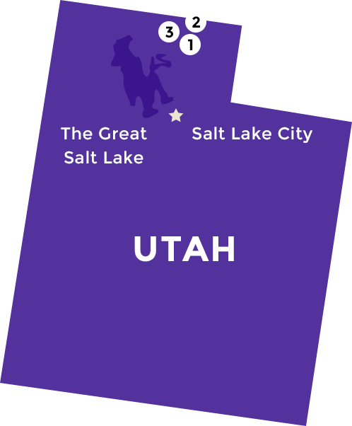 Central Milling Locations in Utah